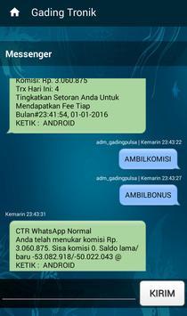 Gading Tronik Mobile apk screenshot