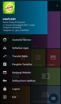 Indoflash Pulsa apk screenshot