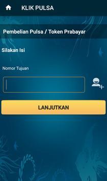 Klik Pulsa - Pulsa All Operator Murah screenshot 3