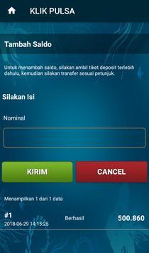 Klik Pulsa - Pulsa All Operator Murah screenshot 5