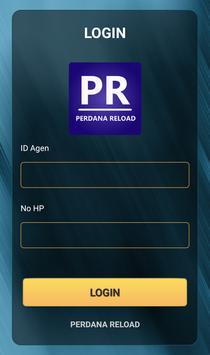 Perdana Reload - Pulsa All Operator Termurah poster