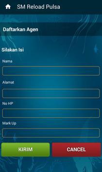 SM Reload Pulsa screenshot 7