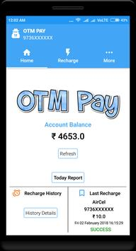 OTM Pay apk screenshot
