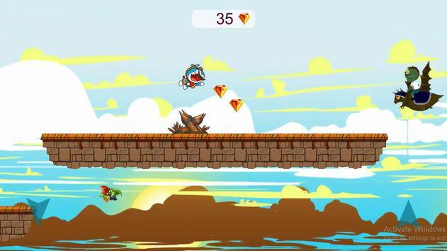 cow-doramon new west challenge adventure apk screenshot