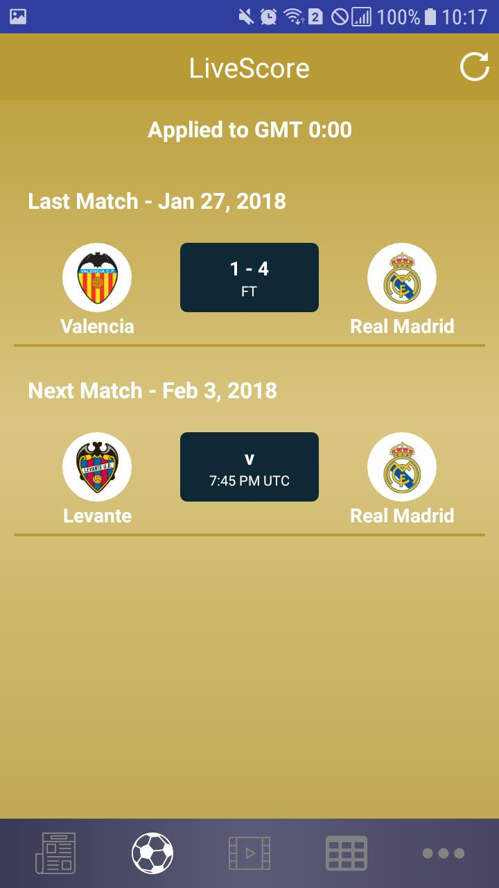 Real Madrid 2017 2018 Season For Android Apk Download