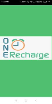 One Time Recharge - Online Mobile Recharge poster