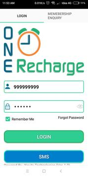 One Time Recharge - Online Mobile Recharge screenshot 1