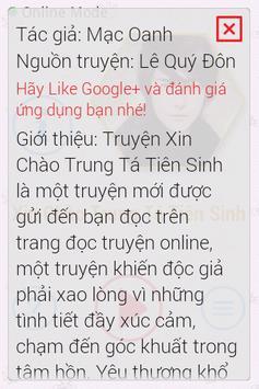 Xin Chào Trung Tá Tiên Sinh screenshot 2
