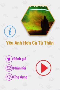 Yêu Anh Hơn Cả Tử Thần FULL poster