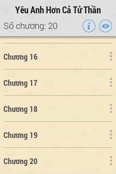 Yêu Anh Hơn Cả Tử Thần FULL screenshot 2