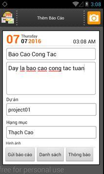 Online Report screenshot 1