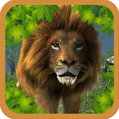 Angry Killer Lion 3d Simulator icon