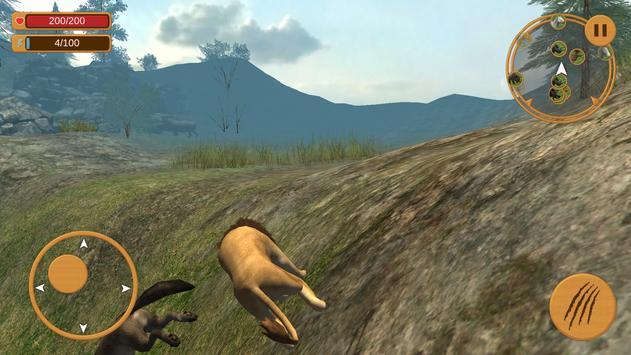 Angry Killer Lion 3d Simulator apk screenshot