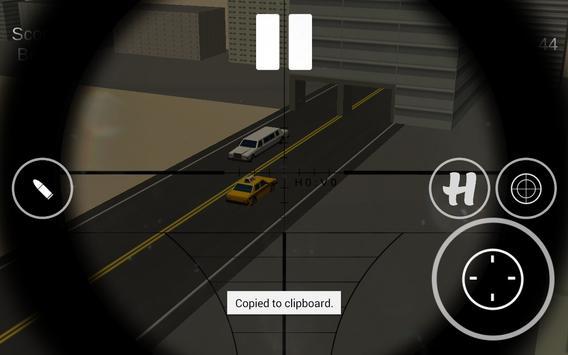 Sniper:Road Traffic 3d Hunter poster