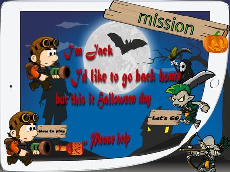 Halloween adventure Free game apk screenshot