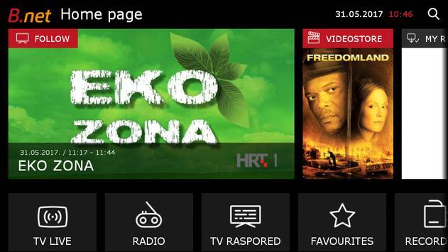 B.net TV za van Poster