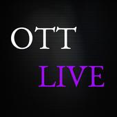 OTT LIVE icon