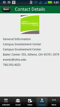 Ohio University Campus Events apk screenshot
