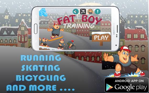 fat Boy Training poster