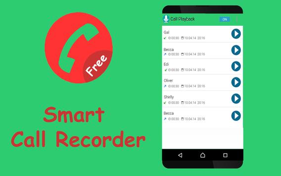 Smart Call Recorder poster