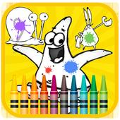 Patrick Star Coloring Book icon