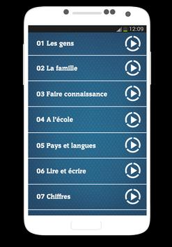 Apprendre l'anglais - audio screenshot 2