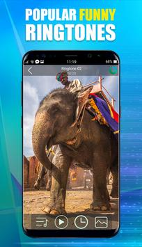 Popular Funny Ringtones & Wallpaper For Galaxy S8 apk screenshot