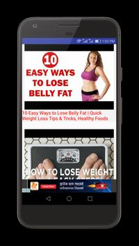 How to lose Weight Video Tips poster