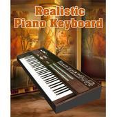 Realistic Piano Keyboard icon