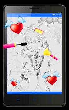 Valentine Insta Sketch Frame poster