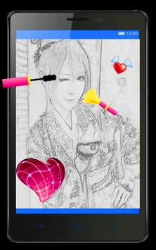 Valentine Insta Sketch Frame screenshot 1