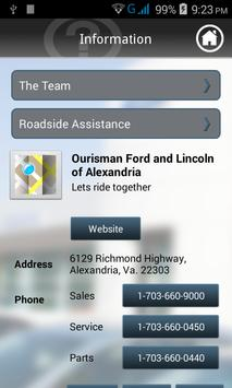 Ourisman Ford apk screenshot