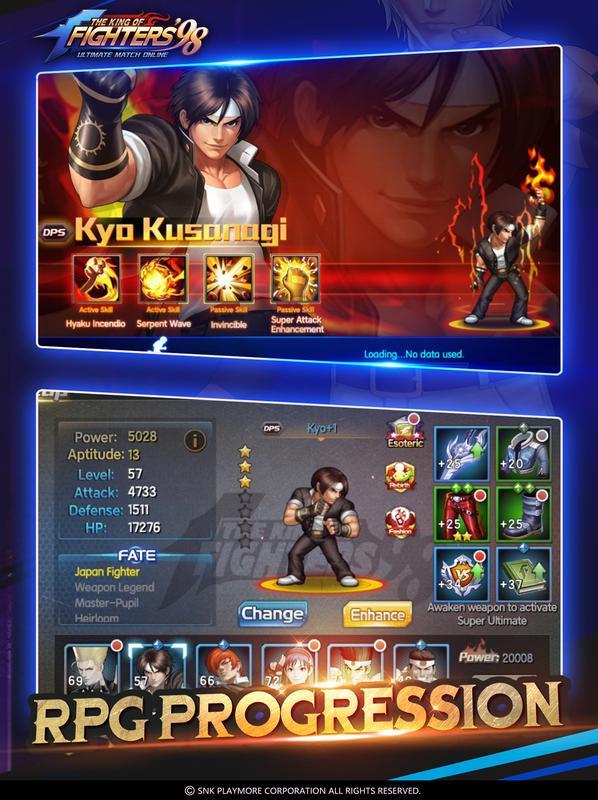 king of fighter 97 apk mod download
