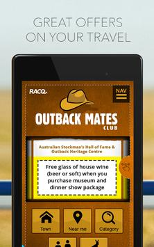 Outback Mates Club poster