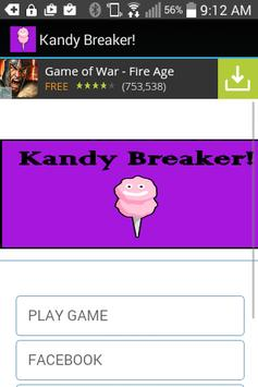 Kandy Breaker! Free Candy Game poster