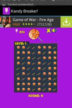 Kandy Breaker! Free Candy Game screenshot 3