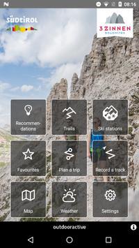 3 Zinnen Dolomites Outdoor poster