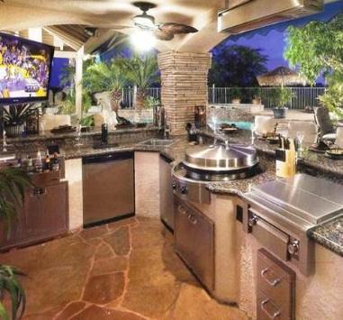 Outdorr kitchen design ideas apk screenshot