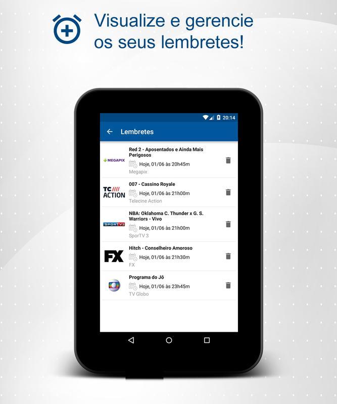 eb3be32c03 Guia TV - Programação canais para Android - APK Baixar
