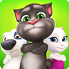 Talking Tom Bubble Shooter icône