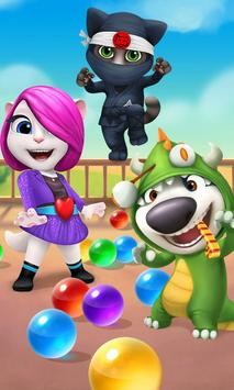 Talking Tom Bubble Shooter poster