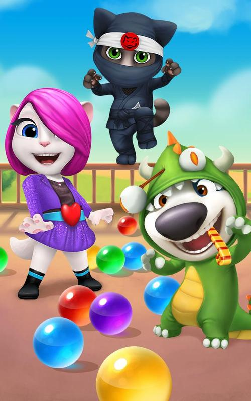 Talking Tom: Bubbles 1.5.3.20 for Android - Download