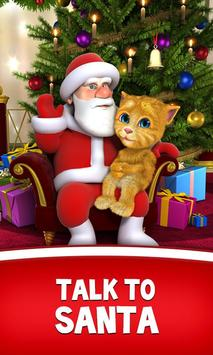 Talking Santa meets Ginger poster
