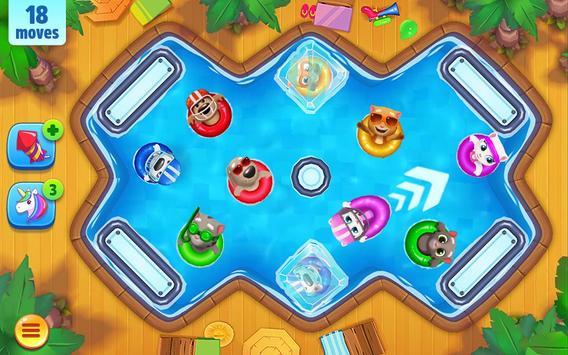 Talking Tom Pool Puzzle Game apk screenshot