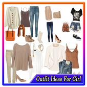 outfit ideas for girls icon