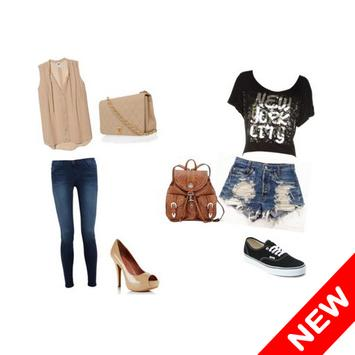outfit ideas for girls poster