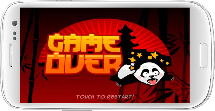 Fall Fu Panda apk screenshot