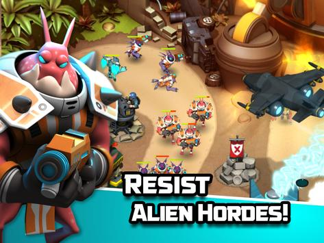 Alien Creeps TD apk screenshot