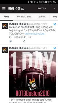 Outside The Box Festival apk screenshot