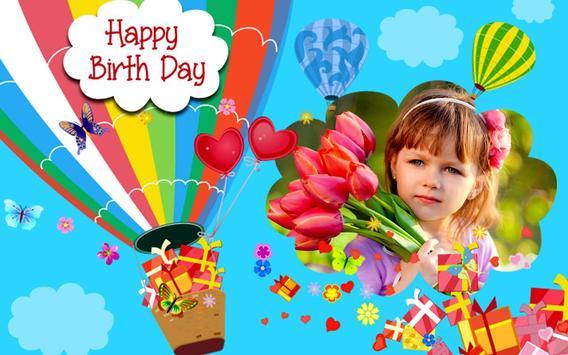 Happy Birthday Frames : Free Birthday Photo Frames screenshot 1